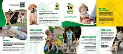Cuadríptico en castellano