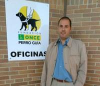 Alberto Martín, en la sede de la FOPG