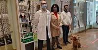 David Bradshaw Specsavers Ópticas, Irene Garcia ONCE, Daniel Lahitón