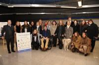 Presentación Metro Madrid con Perros Guía