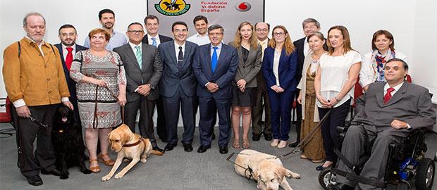 Patronato de la FOPG con la Fundación Vodafone