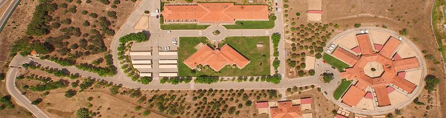 vista satélite de las instalaciones de la Fundación